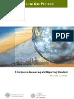 Greenhouse gas Protocol 2004