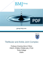 Tibiofibular and Ankle Joint Complex BMJ