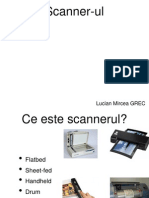 Prezentare scanner