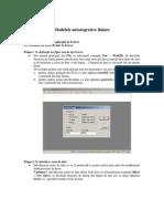 Modelele Autoregresive Liniare
