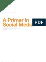 A Primer in Social Media