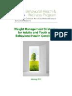 Weight Management Strategies