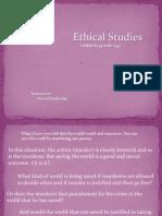 intro to ethics