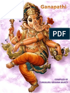 GANAPATHI:SAYING BY BHAGAWAN SRI SATHYA SAI BABA ON LORD