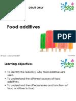 Food Additives 1