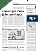 2005.02.01 - Vítima fatal No km 55 da BR-381 - Estado de Minas