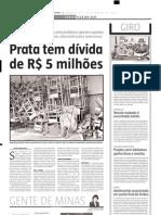 2005.03.29 - Acidente Na BR-381 Deixa Um Morto e Oito Feridos - Estado de Minas