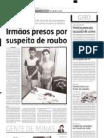 2005.04.07 - Rapaz é atropelado na BR-381 e morre - Estado de Minas