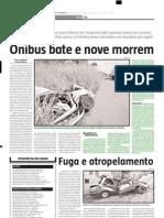 2005.04.30 - ACIDENTES EM SÉRIE NA BR-381 - Estado de Minas