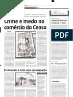 2005.05.13 - O tombamento de um caminhão provocou um grande congestionamento na BR-381 - Estado de Minas