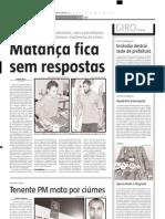 2005.05.21 - Três mortos em acidentes - Estado de Minas