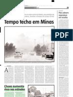 2005.05.24 - Chuva Aumenta Risco Nas Estradas - Estado de Minas