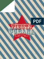 Fiesta Cubana Party Menu
