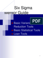 Lean Six Sigma Mentor Guide