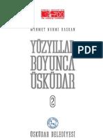 Mehmet Nermi Haskan Yüzyillar Boyunca Üskudar Cilt 2 (2001)
