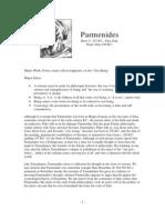 Philosopher Profiles Parmenides