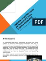 ANÁLISIS DE LOS PROCESOS DE TRANSPORTE PARA ENERGÍA