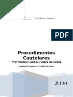 Apostila de Procedimento Cautelar - 2009