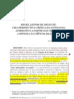 !!! Ferreyra - Hegel Lector de Deleuze