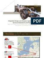 Integrated Design and Analysis Application for Structural Steelwork and Plant Systemsx