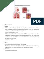 Acute Respiratory Distress Syndrome