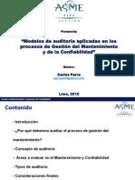 Carlos Parra-Congreso ASME-Perú-2010-Modelos Auditorías