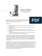 Philosopher Profiles Zeno