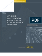 Infodev Improving Competitiveness and Increasing Economic Growth in Tanzania(Web)