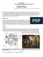 Case Study Analysis Planetary Gearbox Sept 5 2006