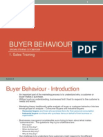 01 Buyer Behavior