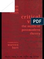 Critical Vices of Postmodernism