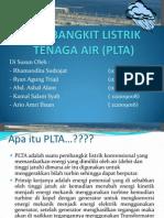 Pembangkit Listrik Tenaga Air (Plta)