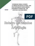 Roteiro Estudos Artrologia - Filipe Emanuel - Ufs
