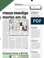 2005.11.11 - Acidente Fecha a BR-381 - Estado de Minas