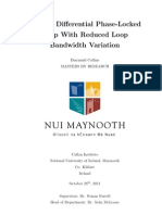 A Fully Differential Phase-Locked Loop With Reduced Loop Bandwidth Variation
