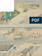 Scroll Panels From the Tale of Fujiwara Hidesato