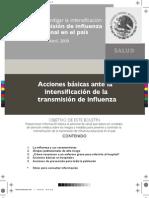 Boletín Influenza México SSA