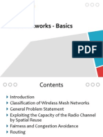 Chap4 - Mesh Networks - Basics