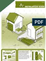Rainwater H2OG storage solution installation guide