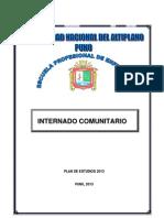INTERNADO COMUNITARIO