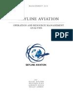 Skyline Aviation Final