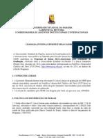 Santander Universidades - Chamada Pública