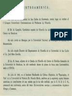 Bibliografia Centroamerica Revista de Filosofia UCR Vol.4 No.14