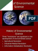 History of Environmental Science 2011
