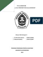 etika bisnis - makalah 1