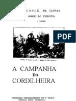A Campanha Da Cordilheira Diario Do Exercito Volume 1