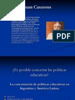 Es posible concertar las políticas educativas.ppt