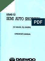 Daewoo USAS-12 Shotgun