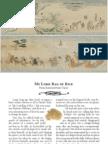 Two Panels From Tale of Fujiwara Hidesato Scroll