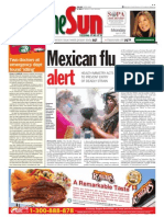 thesun 2009-04-27 page01 mexican flu alert